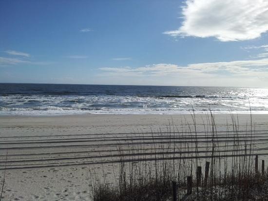 Cabana 202: View of beach at Cabana 105