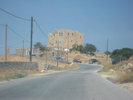 Naxos Town, Greece: bazeos tower