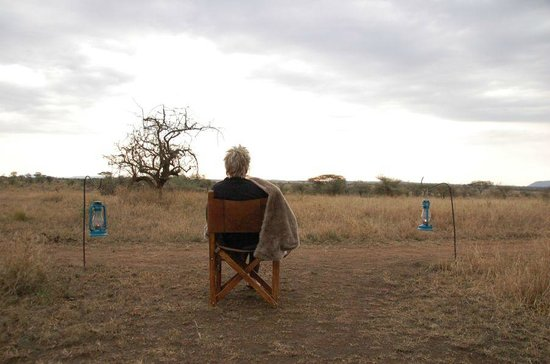 Pumzika Safari Camp: Vista desde la tienda
