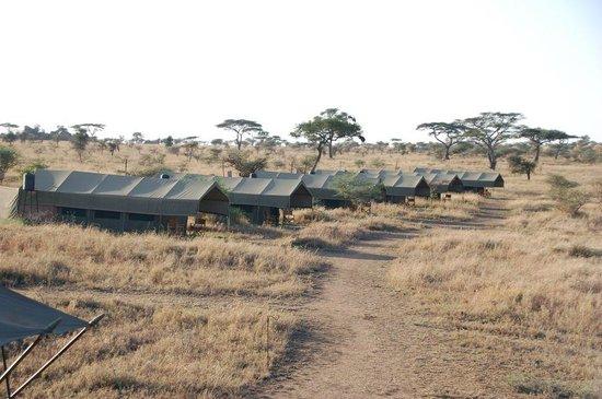 Pumzika Safari Camp: Vista sobre el campamento