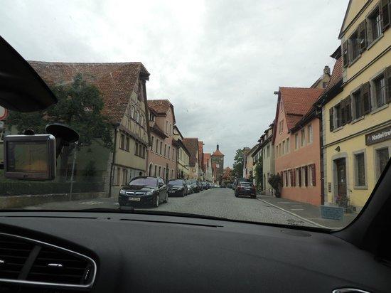 Altstadt: Entrando na cidade