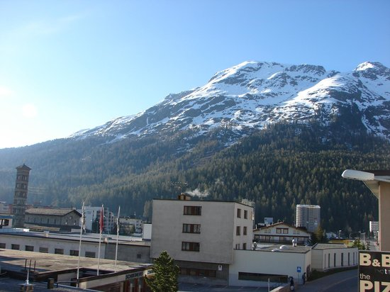 Hotel Piz St. Moritz : View from the room!