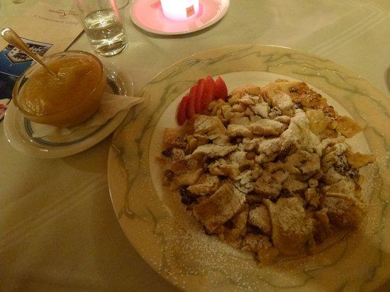 Alpenhotel Kramerwirt: десерт шмарен