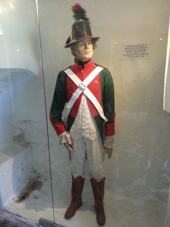 Castle of Good Hope : Uniform