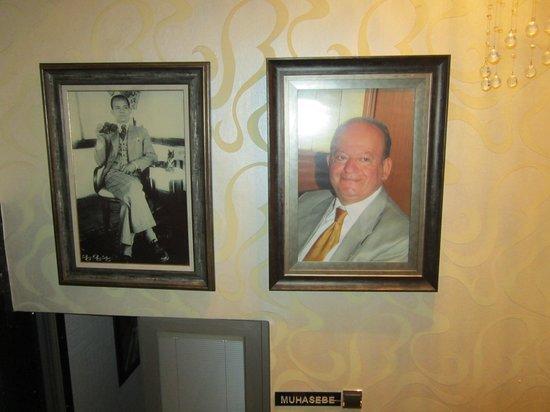 Temiz Hotel : Основатели отеля