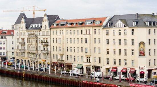 Melia Berlin: Вид из окна