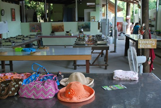 Krabi Thai Cookery School: la cuisine