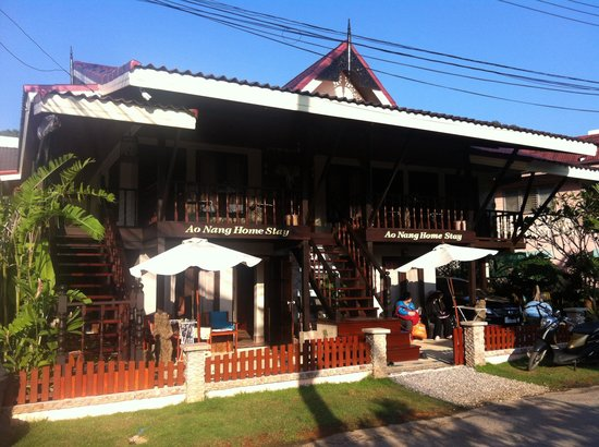 Ao Nang Home Stay: Jan 2014