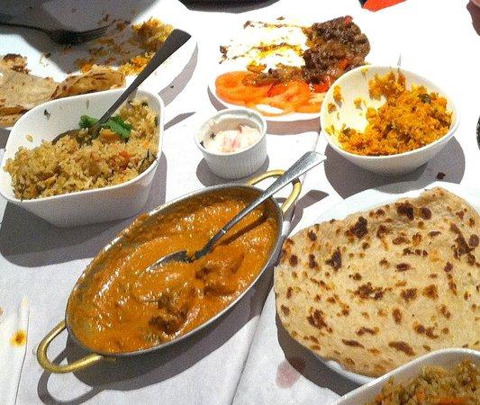 Kerala Cafe: Delicious main course.