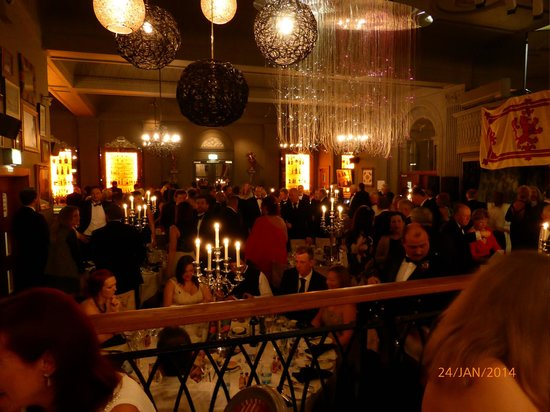 Grand Cafe: Burns night dinner