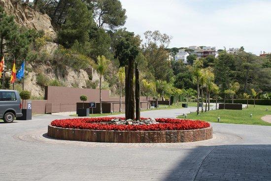 Hotel Guitart Monterrey: entrance
