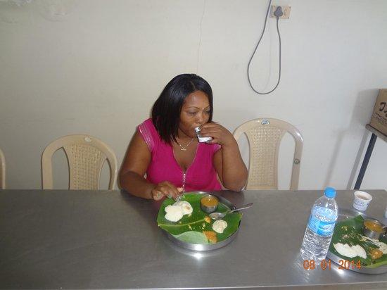 Annai Residence: au petit déjeuner