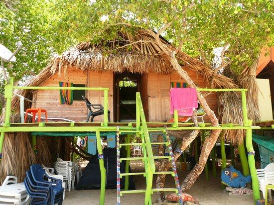 RestoBar Los Corales: Bungalow/dormitorio