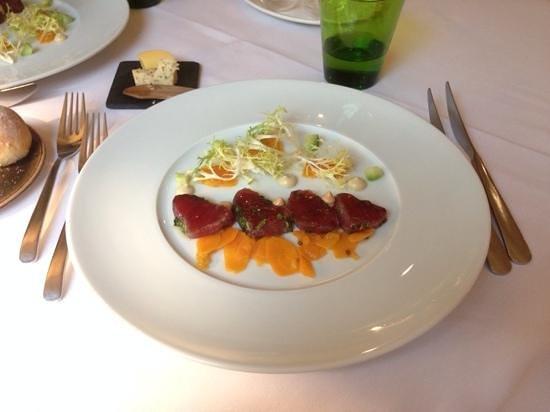 Den Gouden Harynck : lunch: voorgerecht