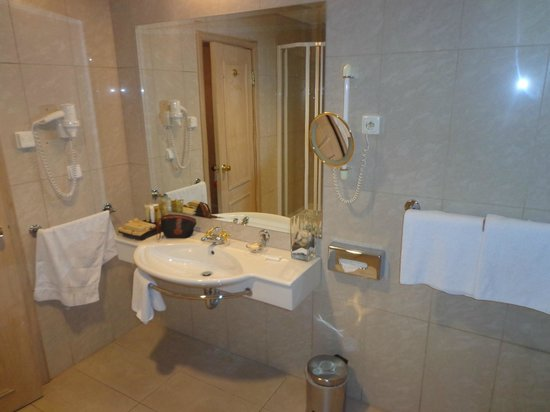 Friday Hotel Prague: Toilette.