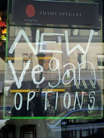 Aroy-Jung: The Sign in their Window Says it All!