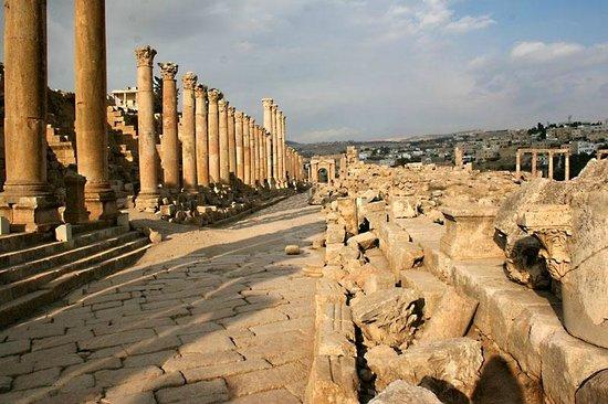 Ruinen von Gerasa: Главная улица