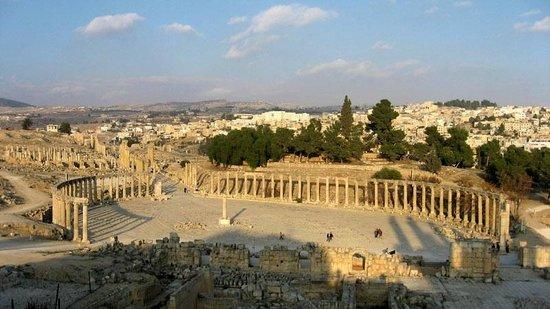Ruinen von Gerasa: Главная площадь