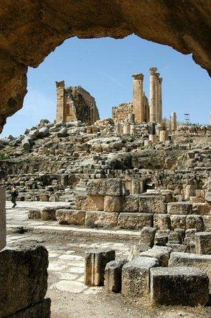 Ruinen von Gerasa: Храм Зевса