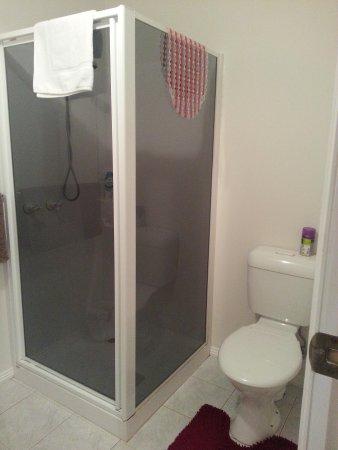 Robin's Nest Bed & Breakfast: Shower area