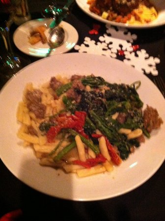 La Forchetta: Broccoli rabe & sausage