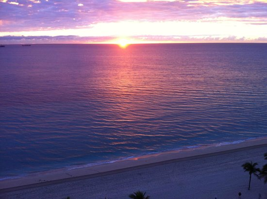 The Westin Beach Resort, Fort Lauderdale: Sunrise