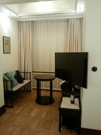 Hotel Rialto: Диванная зона
