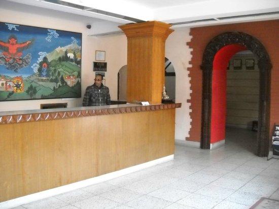 Hotel Shakti: Lobby