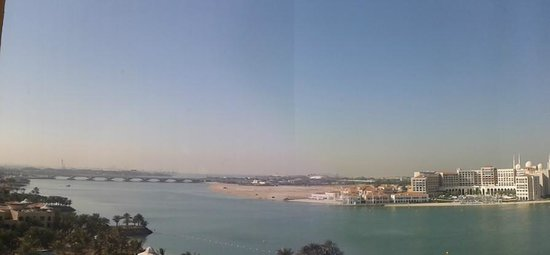 Traders Hotel, Qaryat Al Beri, Abu Dhabi: view from club lounge
