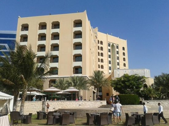 Traders Hotel, Qaryat Al Beri, Abu Dhabi: view from beach