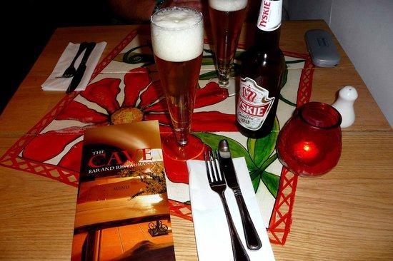 Restaurant Krakow: Gettin' set up for the evenin'