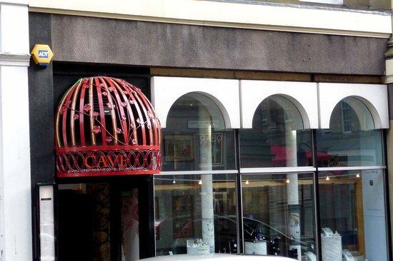 Restaurant Krakow: Entrance