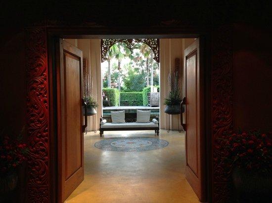 Siripanna Villa Resort and Spa Chiang Mai: view from the hallway