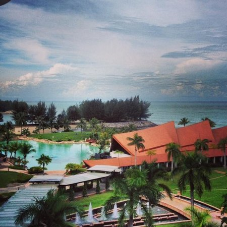 The Empire Hotel & Country Club: view from my room