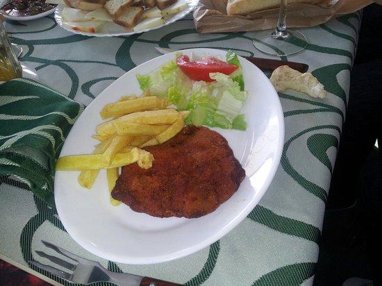 Meson Restaurante la Cantina: San jacobo escaso