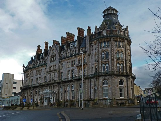 Best Western Duke Of Cornwall Hotel: from the street