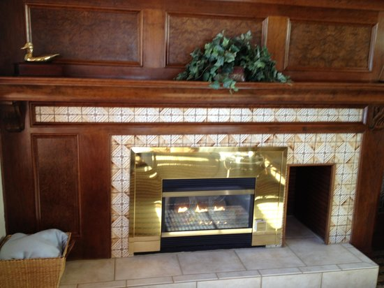 Sunburst Condominiums: Fireplace