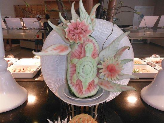 Luxury Bahia Principe Bouganville Don Pablo Collection: food art