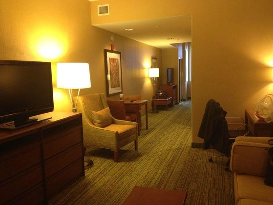 Hampton Inn & Suites Denver Downtown: GREAT king suite room!
