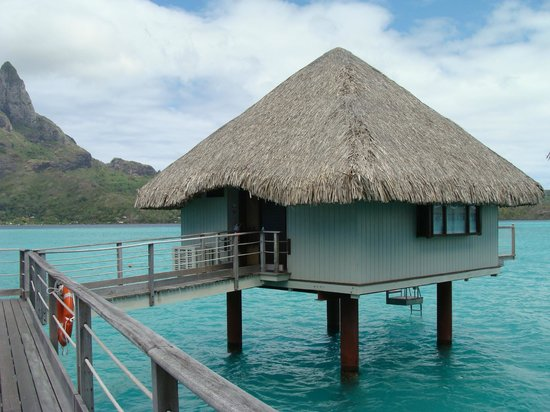 Le Meridien Bora Bora: Pilotis Premium bout de ponton