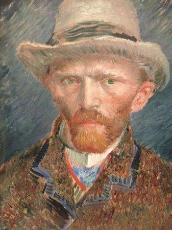 Rijksmuseum: Van Goghs self portrait