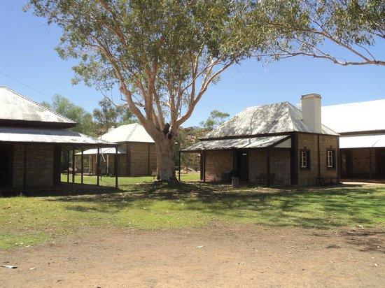 Alice Springs Telegraph Station Historical Reserve: Telegraph station