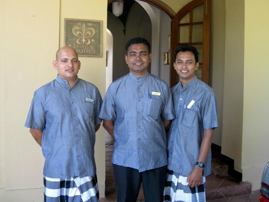 Ceylon Tea Trails: Some of the great staff at Norwood during our stay.
