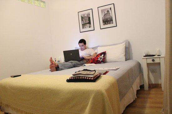 Querido B&B : Utilizando WI-FI do Hotel