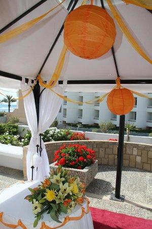 Louis Ledra Beach : wedding
