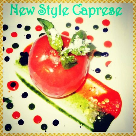 The Garden Grille & Lounge: New Style Caprese