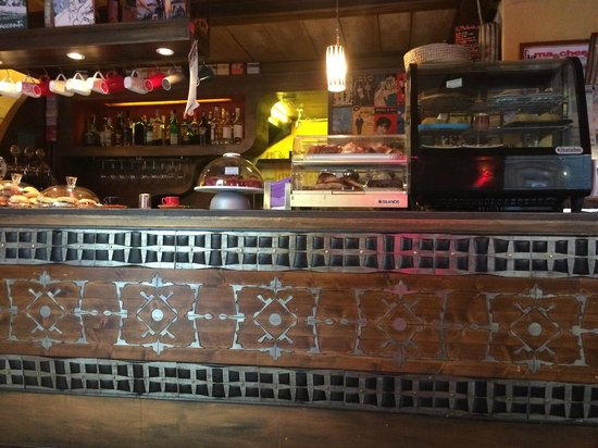 inside Libreria Cafe La Cite