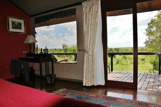 Olare Mara Kempinski Masai Mara: Beautiful room view