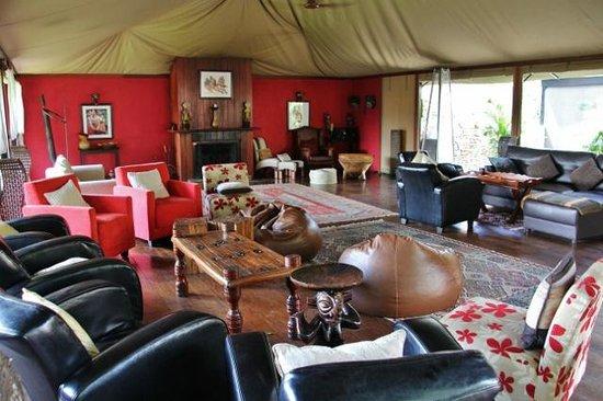 Olare Mara Kempinski Masai Mara: Aufenthaltsraum