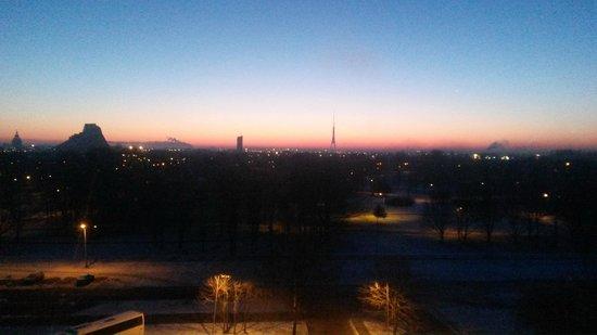 Bellevue  Park Hotel Riga: Вид из окна